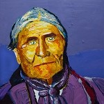 SOLD Geronimo (Available in Giclee)