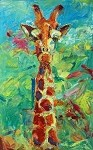 SOLD Gerold-Giraffe (available in Giclee)