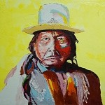 SOLD Sitting Bull (available in Gilcee)