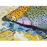 SOLD Cutty Cuttroat (available in Giclee)